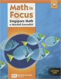Singapore Math in Focus Chapter 3 Test Review