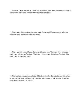 Singapore / Primary Mathematics Grade 5 Unit 2 Retake Test