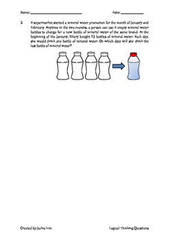 Singapore Primary School Math (Logical Thinking Question)