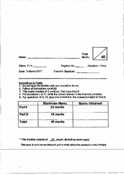 Singapore edition - Primary 3 & 4 Science Assessment Papers