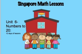 Singapore(Primary) Math Unit 6 for Smartboard