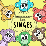 Singe / monkey Clip Arts