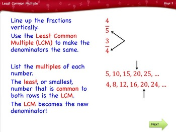 Least Common Multiple Lesson by Singin' & Signin'