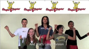 Long Division Lesson by Singin' & Signin'