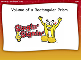 Volume of a Rectangular Prism Lesson by Singin' & Signin'
