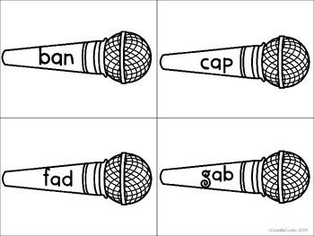 Singing CVC Words Like a Rock Star! 243 WORDS!