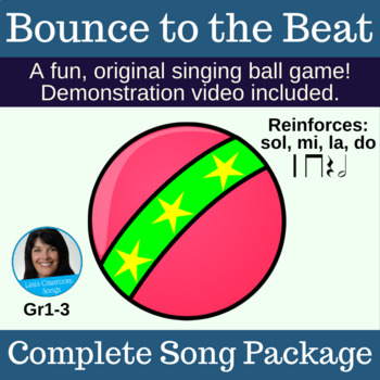 "Singing Game with Ball | ""Bounce to the Beat"" 