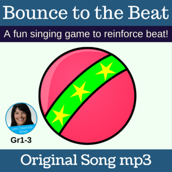 "Singing Game with Ball | ""Bounce to the Beat"" by Lisa Gillam 
