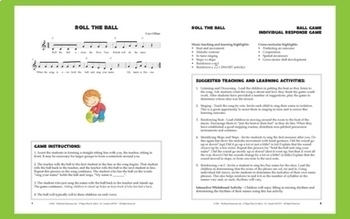 "Singing Game with Ball | ""Roll the Ball"" by Lisa Gillam 