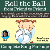 Singing Game with Ball | Roll the Ball from Friend to Friend | Complete Package