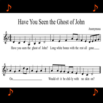 Have You Seen the Ghost of John? Singing Round ♫ .mp3 Accompaniment
