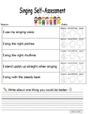 Singing Self-Assessment