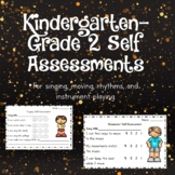 Singing Self-Assessment Package