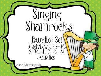 Singing Shamrocks: Bundled Solfege Activities for Kodaly Classes