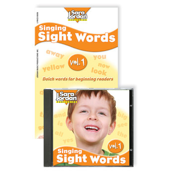 Singing Sight Words, vol. 1, Digital Download