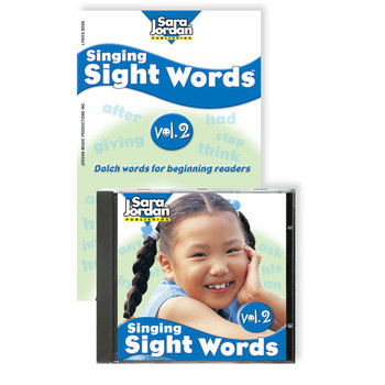Singing Sight Words, vol. 2, Digital Download