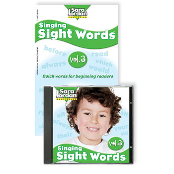 Singing Sight Words, vol. 3, Digital Download