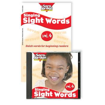 Singing Sight Words, vol. 4, Digital Download