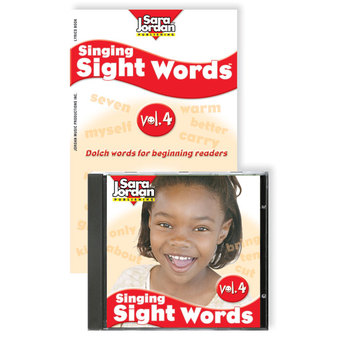 Singing Sight Words, vol. 4, Digital Download