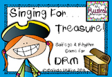 Singing for Treasures: DRM Rhythm & Melody Game for the Ko