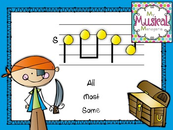Singing for Treasures: So La Mi Rhythm & Melody Game for the  Kodaly Music Class