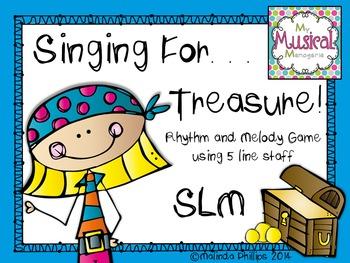 Singing for Treasures: So La Mi Rhythm & Melody Game for t