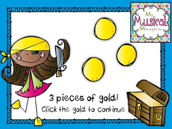Singing for Treasures: So-Mi Rhythm and Melody Game for Kodaly Music Rooms