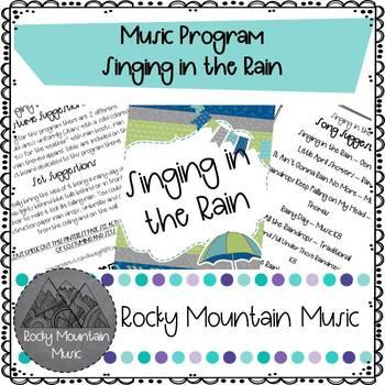 Singing in the Rain Music Program