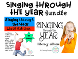 Singing through the Year (Math and Literacy) bundle