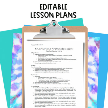 Singing with a Sub {Elementary Music Sub Plans}