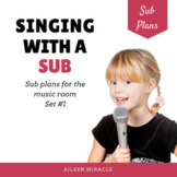 Elementary Music Sub Plans for the Non-Music Sub {Set 1}