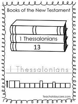 Single Bible Curriculum Worksheet. 1 Thessalonians Bible B