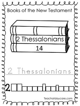 Single Bible Curriculum Worksheet. 2 Thessalonians Bible Book Preschool Workshee