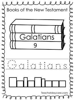 Single Bible Curriculum Worksheet. Galatians Bible Book Preschool Worksheet. Pre