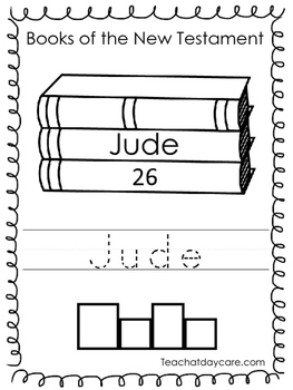 Single Bible Curriculum Worksheet. Jude Bible Book Preschool Worksheet. Preschoo
