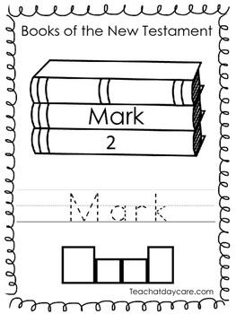 Single Bible Curriculum Worksheet. Mark Bible Book Preschool Worksheet. Preschoo