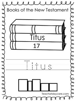 Single Bible Curriculum Worksheet. Titus Bible Book Preschool Worksheet. Prescho