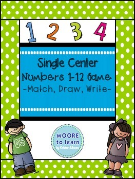 Single Center, Numbers 1-12!