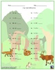 Single Digit Addition - Animal Themed Worksheets - Horizontal