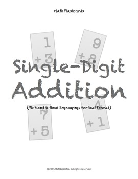 FREE Single-Digit Addition Flashcards