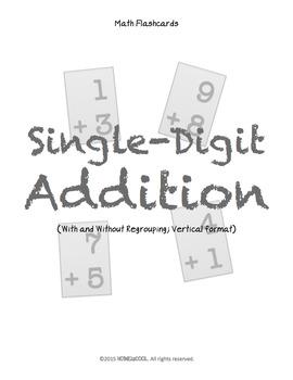 FREE Single-Digit Addition Flashcards