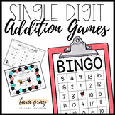 Single Digit Addition Game Bundle • Number Ninjas!
