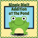 SmartBoard Single Digit Addition Interactive Math Game