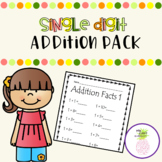 Single Digit Addition Pack