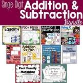 Single Digit Addition & Subtraction BUNDLE