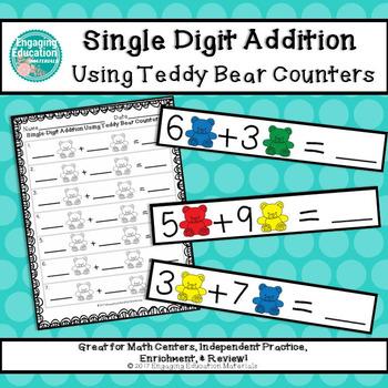 Teddy Bear Counters Teaching Resources | Teachers Pay Teachers