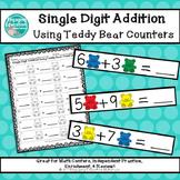 Single-Digit Addition Using Teddy Bear Counters