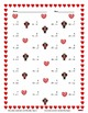 Single Digit Addition - Valentine's Day - Vertical
