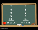 Single Digit Addition With 5 Addends PowerPoint Quiz - Matching Worksheet & Key!