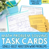 Single Digit Addition - Write To Explain Math Task Cards